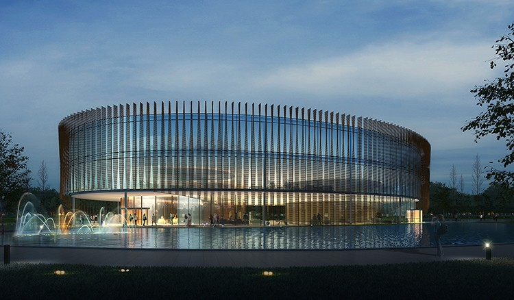 洛阳镇政府-公建类-常州市武进建筑设计院